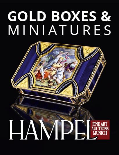 Vente Catalogue V -  Gold Boxes & Miniatures, Russian art chez Hampel Fine Art Auctions : 115 lots