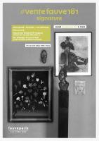 Vente #VenteFauve181 Signature : Beaux-arts, Africanisme, Collection de l'Avocat de J. Majorelle, École de Paris chez FauveParis : 56 lots