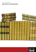 Vente Ibid Livres & Autographes chez Koller Auctions SA  : 79 lots