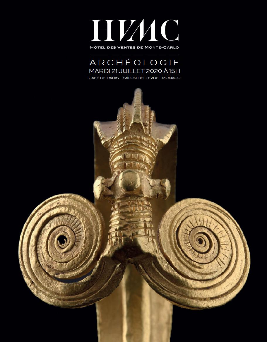 Vente Archéologie chez Hôtel des Ventes de Monte-Carlo : 158 lots