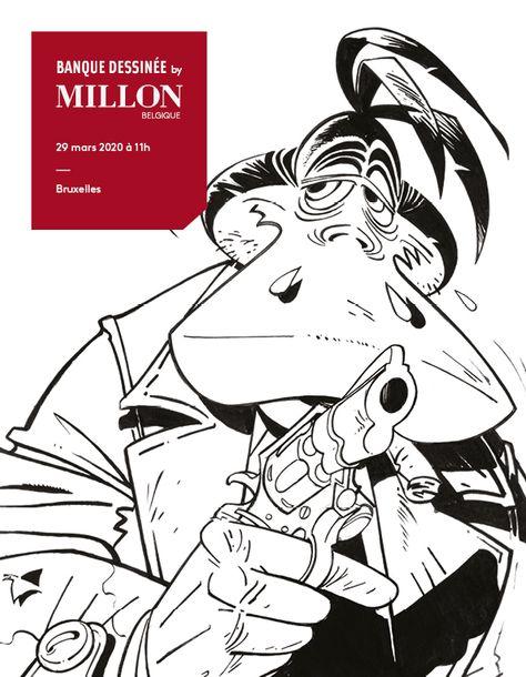 Vente Bandes Dessinées chez Millon Belgique : 694 lots