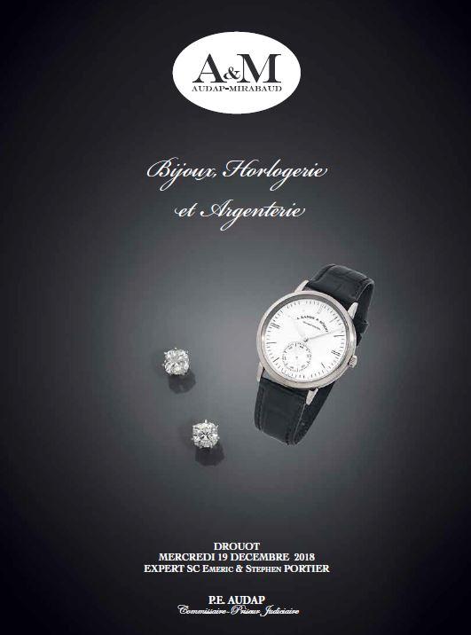 Vente Bijoux Horlogerie Argenterie chez Audap & Mirabaud : 305 lots