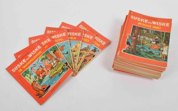 [Comics] Willy Vandersteen - Spike and Suzy - Lot with 33 Suske en Wiske first [...]