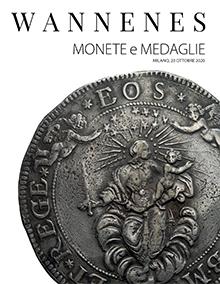 Vente Monnaies et Médailles (Milano) chez Wannenes Art Auctions : 530 lots