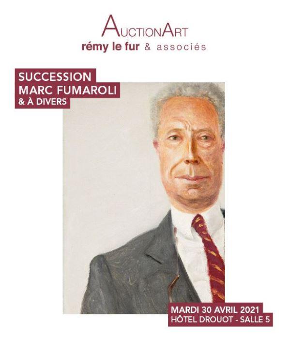Vente Mobilier et objets d'art - Succession Marc Fumaroli  chez AuctionArt - Rémy Le Fur & Associés : 269 lots