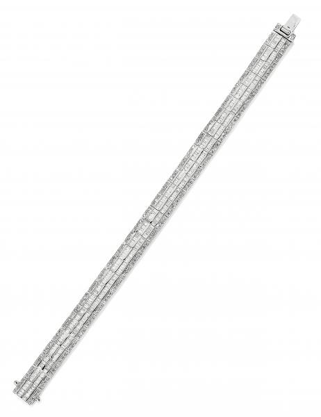 BRACELET SOUPLE AVEC DIAMANTS