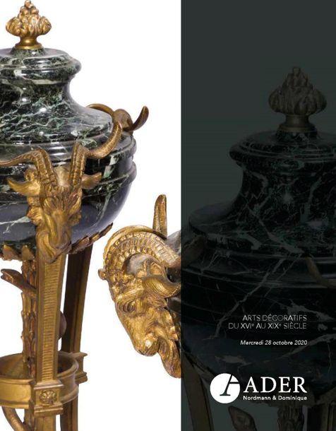 Auction Arts Décoratifs du XVIème au XIXème siècle at Ader : 288 lots