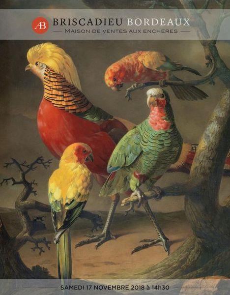 Vente Belle Vente de Tableaux, Mobilier, Objets d'Art chez Briscadieu Bordeaux : 268 lots