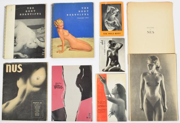 [Erotics] Nude photography - The Body Beautiful. Ed. Heyworth Campbell. Dodge [...]