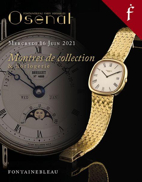 Vente Montres de Collection et Horlogerie (Fontainebleau) chez Osenat : 166 lots