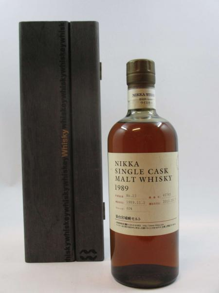 1 bouteille WHISKY NIKKA 1989 Single Cask Malt Whisky Japon (700 ml, 50°) Distilled [...]
