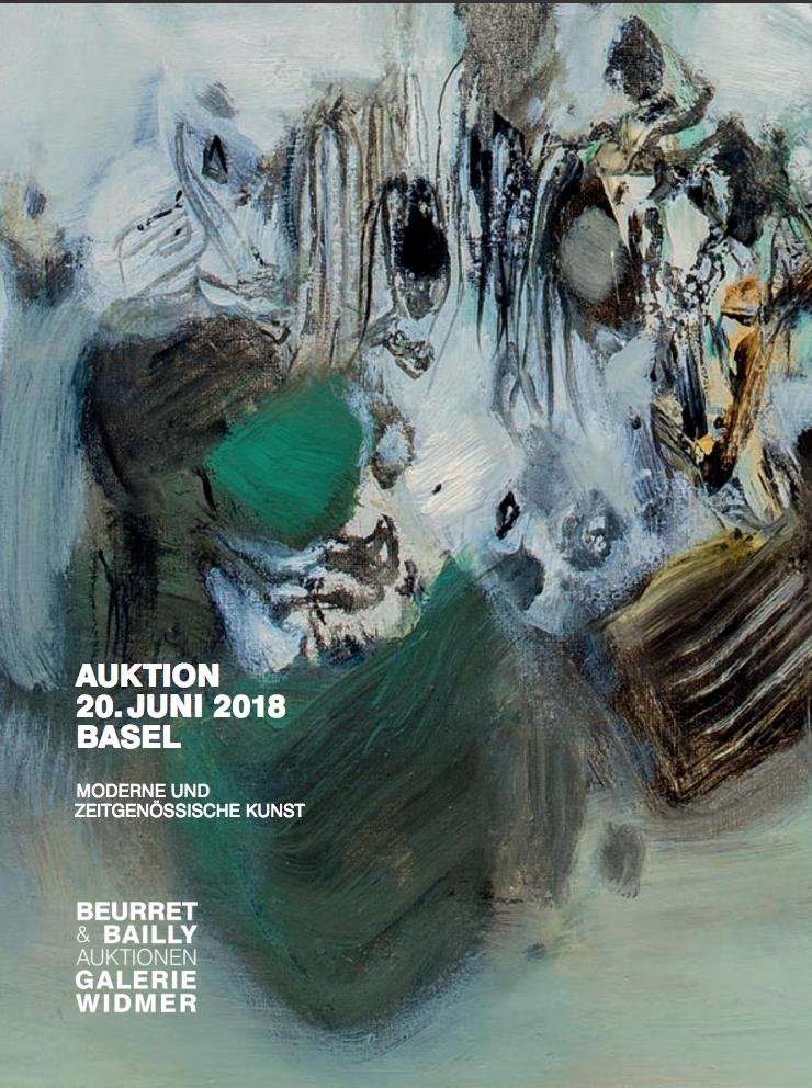 Vente Arts Graphiques, Art Moderne et Collection Givel, Art Contemporain chez Beurret Bailly Widmer Auktionen AG : 320 lots