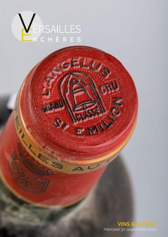 Vente Vins et Spiritueux chez Versailles Enchères  : 183 lots