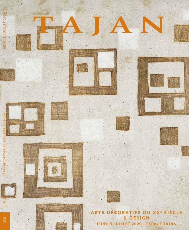 Vente Arts Décoratifs du XXe siècle & Design chez Tajan : 281 lots