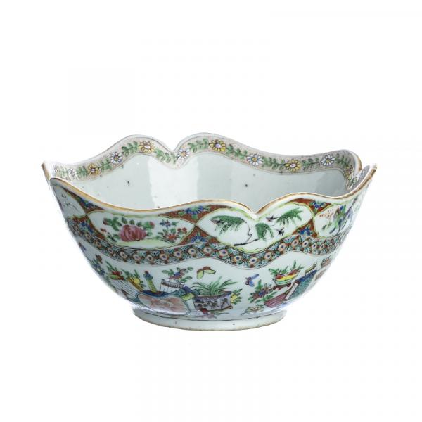 Porcelain bowl in chinese porcelain, Minguo - China, Minguo period, molded porcelain, [...]