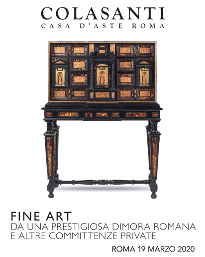 Vente Fine Art – Furniture, Sculptures & Works of Art chez Colasanti Casa d'Aste : 288 lots
