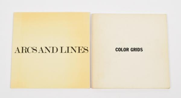 [Fine arts: 20th century] [Sol LeWitt] 2 items: Arcs and Lines - Editions de Massons, [...]