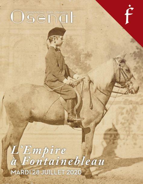 Vente L'Empire à Fontainebleau : Manuscrits et Médailles (Fontainebleau) chez Osenat : 119 lots
