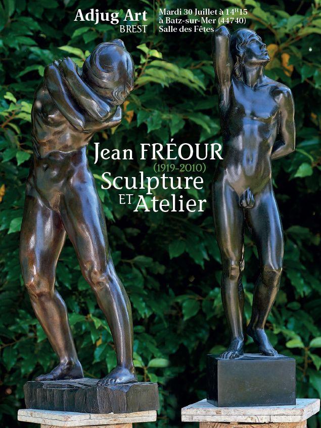 Vente Jean Fréour (1919-2010) La Sculpture de son Atelier  (Batz-sur-Mer) chez Adjug'art : 226 lots