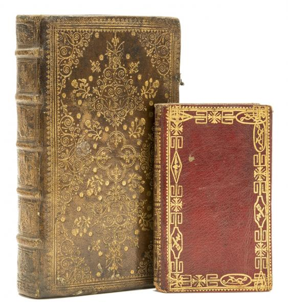 Bindings.- Bible, French. Le Nouveau Testament, contemporary French brown morocco [...]