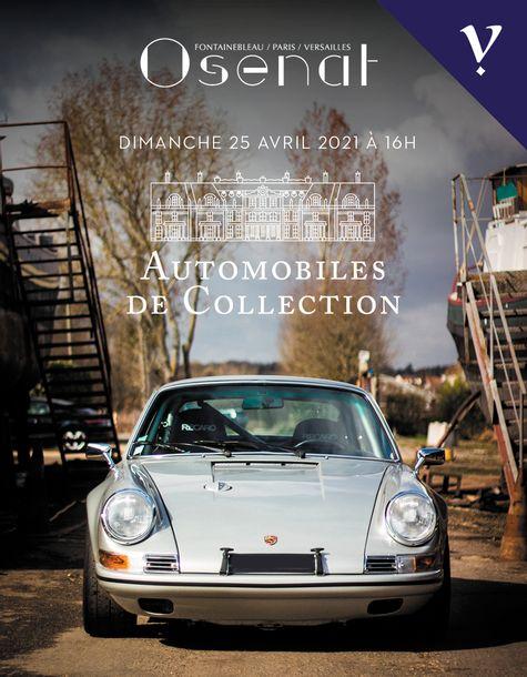 Vente Automobiles de Collection (Versailles) chez Osenat : 25 lots