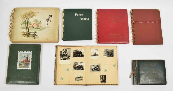 [Asian arts & photography] [Photography] Japanese private albums - Lot with 7 photo [...]
