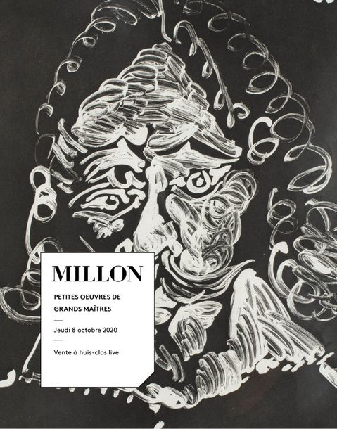Vente De Petites Oeuvres de Grands Maîtres - Tableaux Modernes chez Millon et Associés Paris : 293 lots