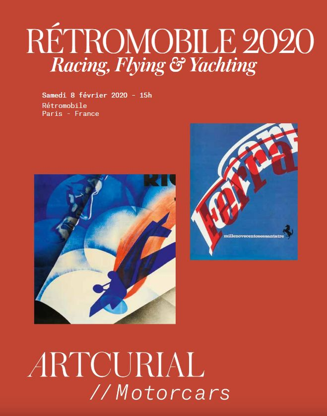 Vente Racing, Flying  & Yachting chez Artcurial : 178 lots