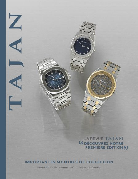 Vente Importantes Montres de Collection chez Tajan : 159 lots