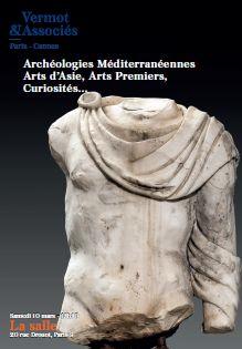 Vente Archéologie Méditerranéenne, Afrique, Asie, Curiosités chez Vermot et Associés : 508 lots