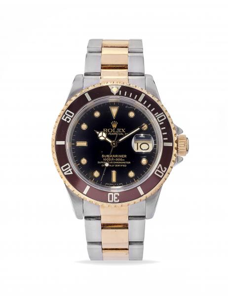 MONTRE-BRACELET ROLEX SUBMARINER TROPICAL, REF. 16613 §