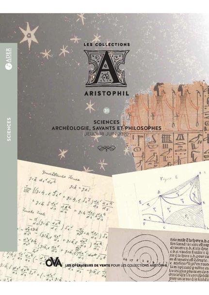 Vente Aristophil 31 - Sciences chez Ader : 160 lots