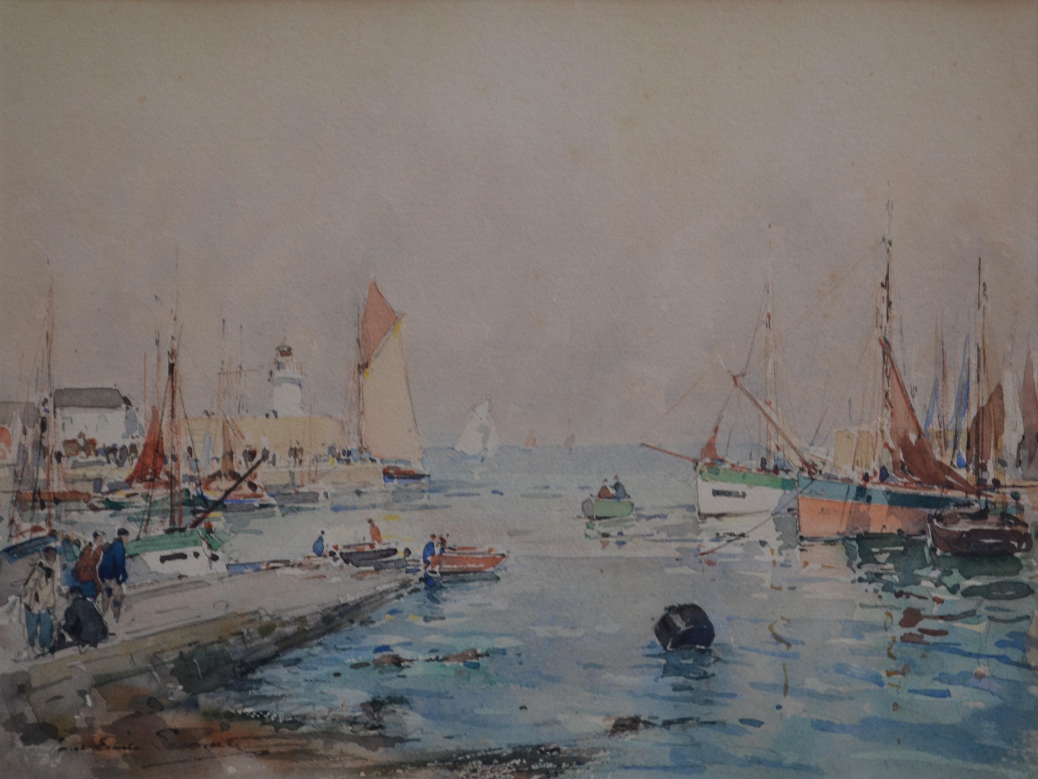Vente Peintres de l'Atlantique et de la Mer chez Couton Veyrac Jamault : 186 lots