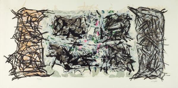 Jean Paul Riopelle 1923 2002 Album 67 N 3 1967 Lithographie En Couleurs Lot 76 Vente En Ligne De Fevrier Chez Les Encheres Bydealers Auction House Auction Fr