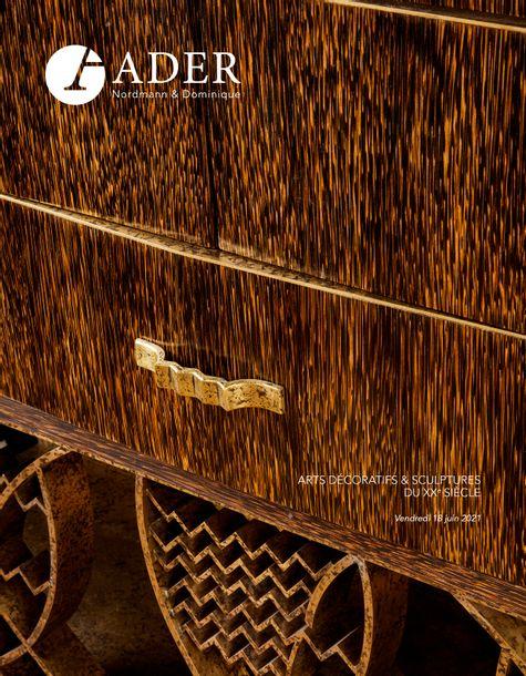 Vente Arts Décoratifs et Sculptures du XXème siècle chez Ader : 111 lots