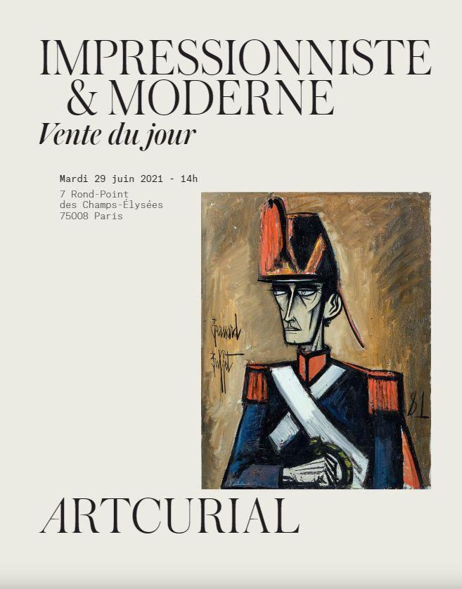 Vente Art Impressionniste et Moderne - Vente du Jour chez Artcurial : 107 lots