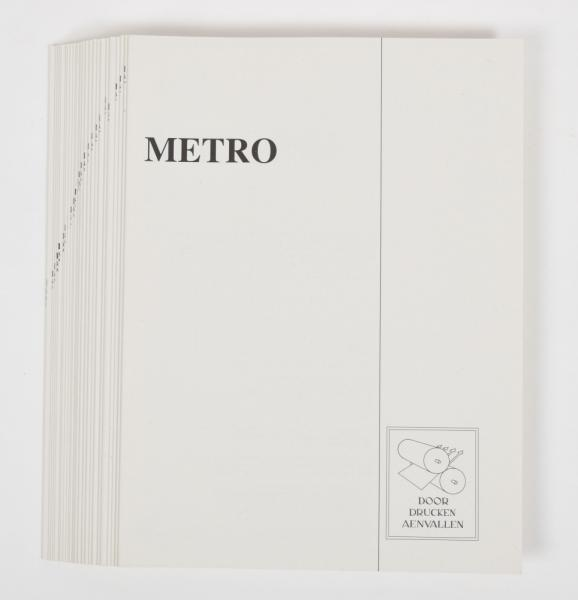 [Comics] Marten Toonder - Metro - No. H. of the 26 deluxe unbound facsimile editions [...]