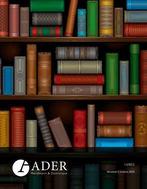 Vente Livres et Livres d'Art chez Ader : 310 lots