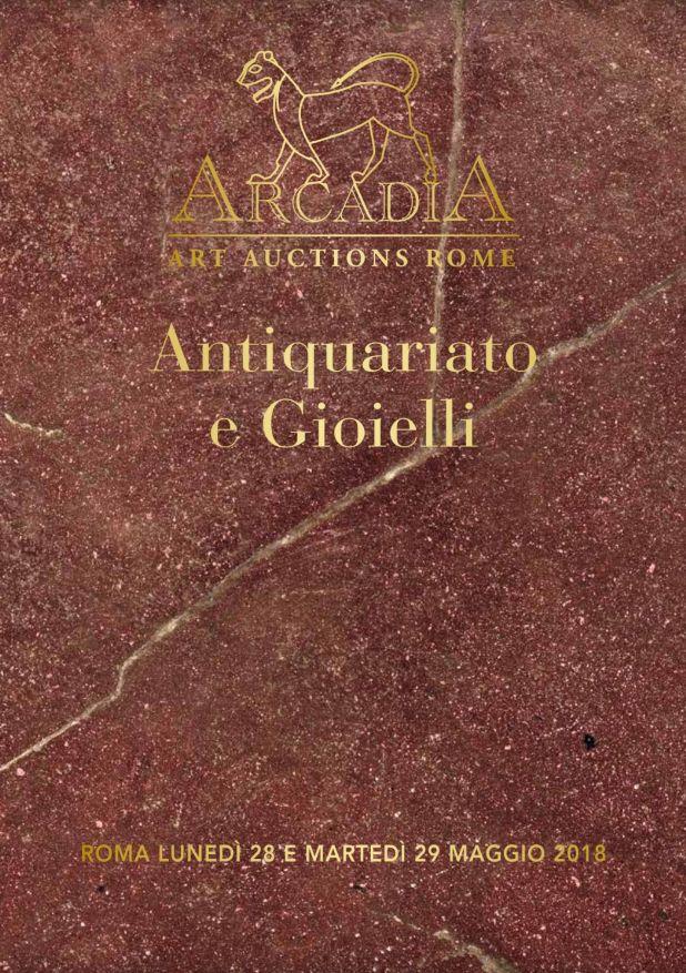 Vente Antiquités et Peintures chez Casa d'Aste Arcadia : 307 lots