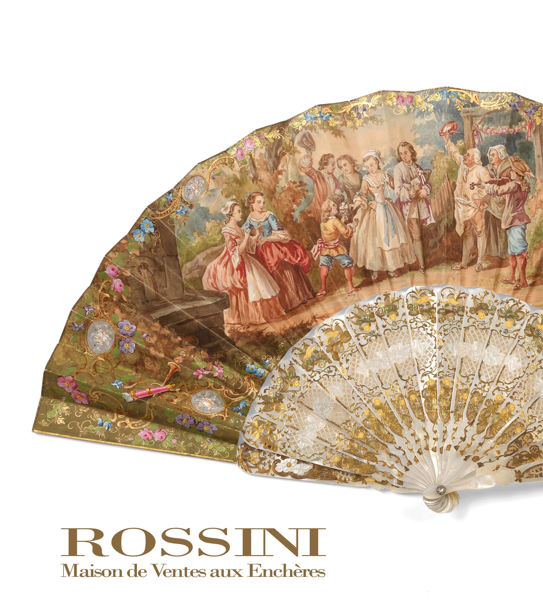 Vente Eventails & Objets de Vitrine chez Rossini : 329 lots