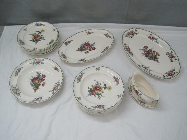 table en porcelaine de villeroy boch