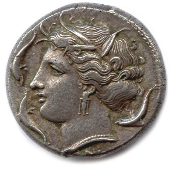Sicile Syracuse Periode D Agathocles 317 310 Tetradrachme D Argent Lot 5 Numismatique Monnaies Antiques Royales Francaises Et Etrangeres Chez Phidias Auction Fr