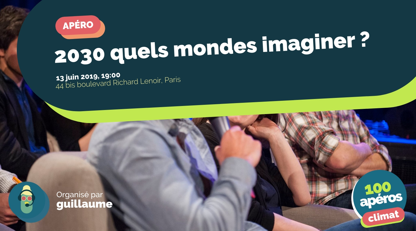 Image of the event : 2030 quels mondes imaginer ?