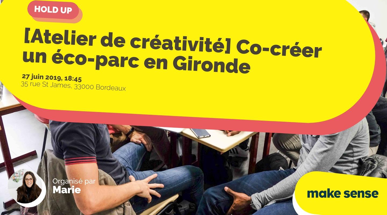 Image de l'événement : [Atelier de créativité] Co-créer un éco-parc en Gironde