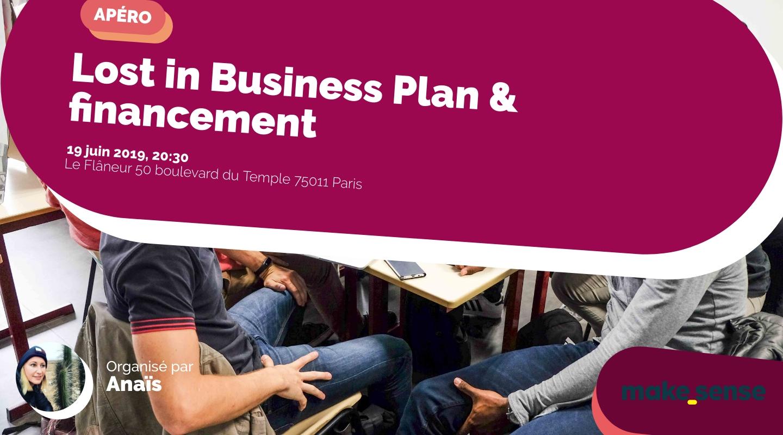 Image de l'événement : Lost in Business Plan & financement