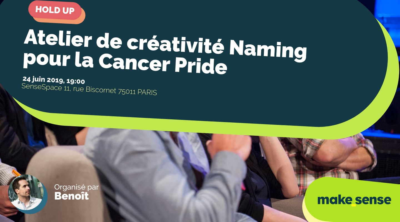 Image of the event : Atelier de créativité Naming pour la Cancer Pride