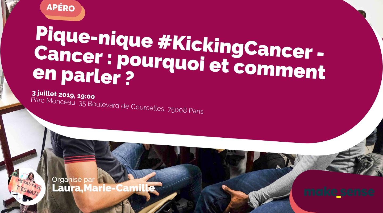 Image de l'événement : Pique-nique #KickingCancer - Cancer : pourquoi et comment en parler ?