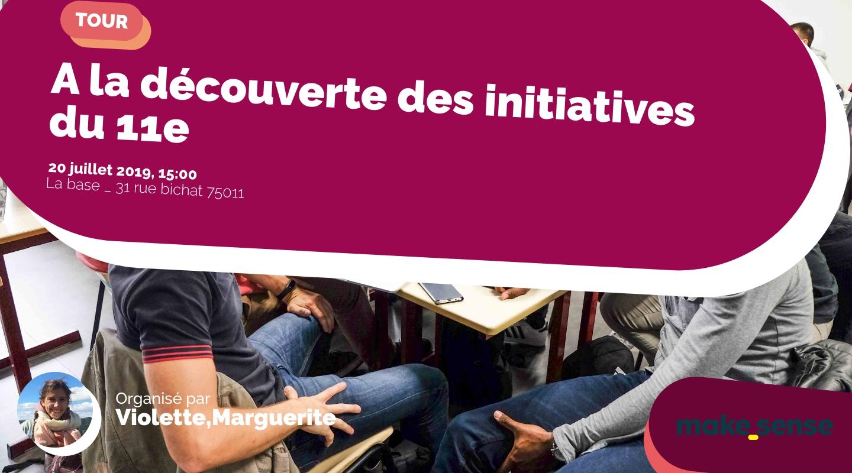 Image of the event : A la découverte des initiatives du 11e