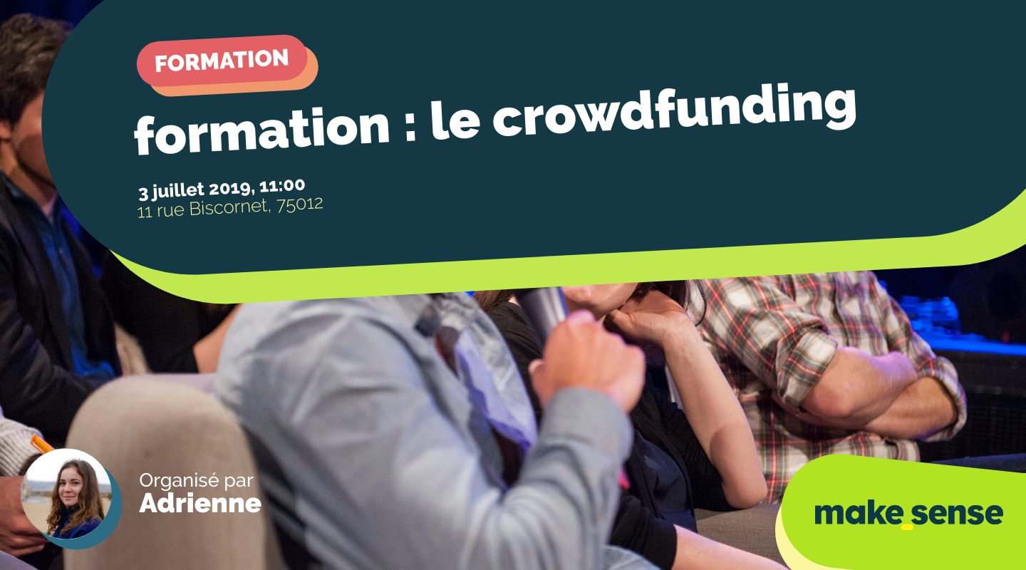 Image of the event : formation : le crowdfunding