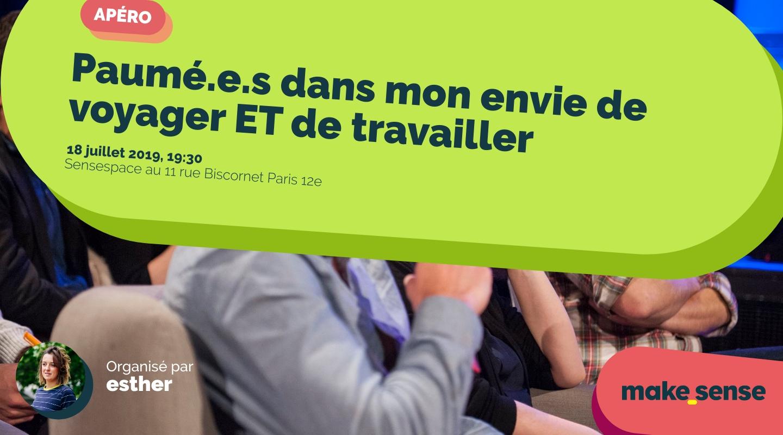 Image of the event : Paumé.e.s dans mon envie de voyager ET de travailler